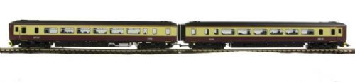 "Dapol ND083B Class 156 2 car DMU dummy car 156435 in ""Strathclyde P.T."" livery"